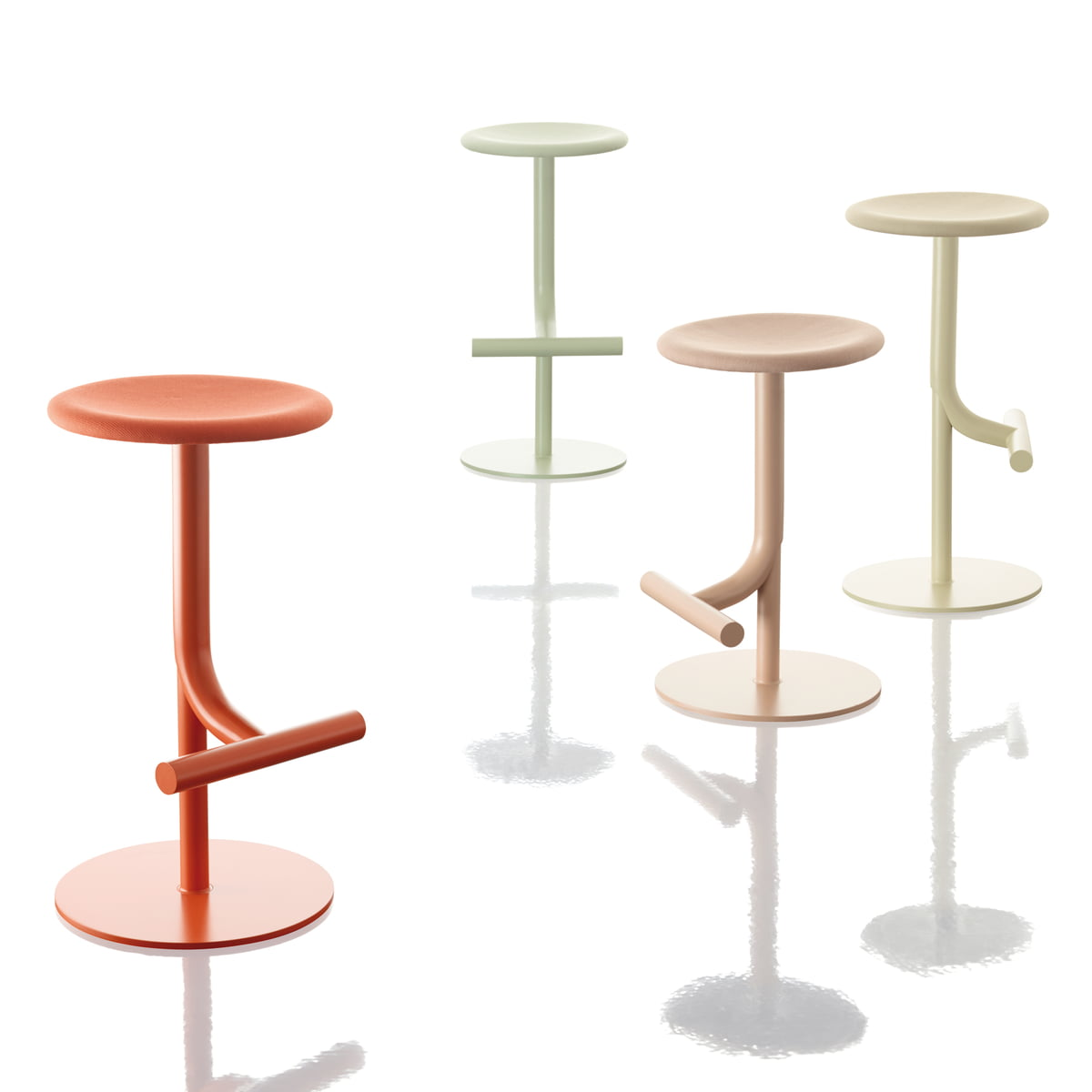 Magis tibu hocker im wohndesign shop for Magis bombo hocker