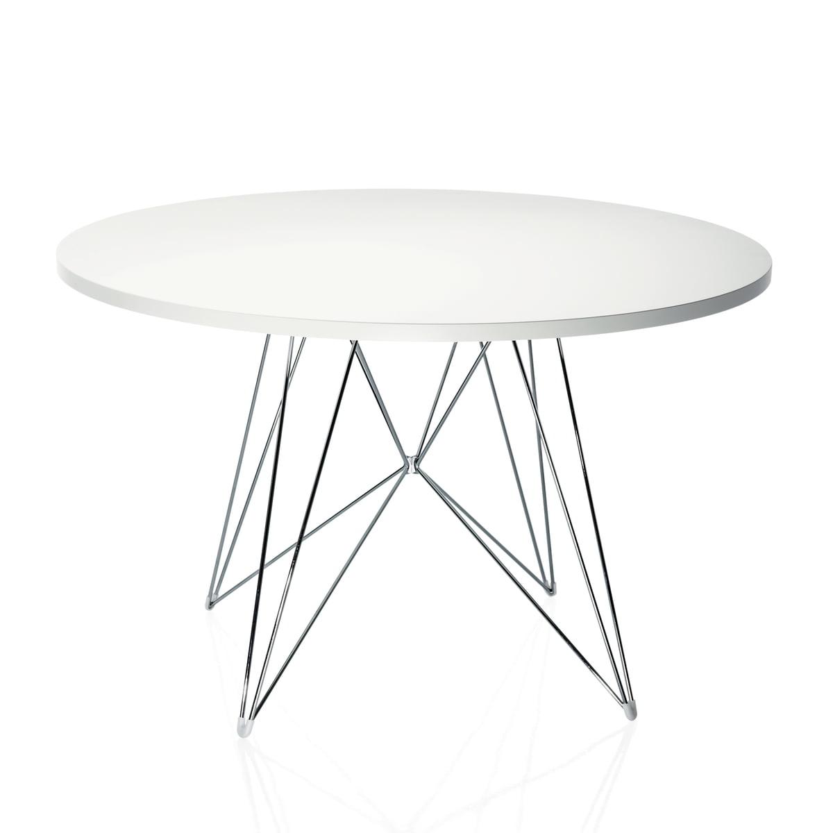 Tisch designklassiker rund  Tavolo XZ3 Tisch von Magis im Shop