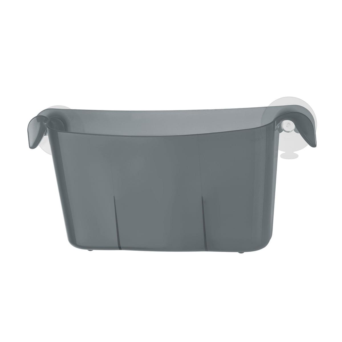 Miniboks Utensilo, transparent anthrazit