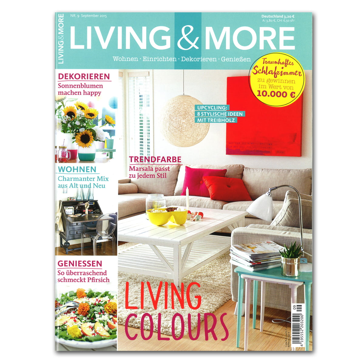 Living And More 09 15 Cover