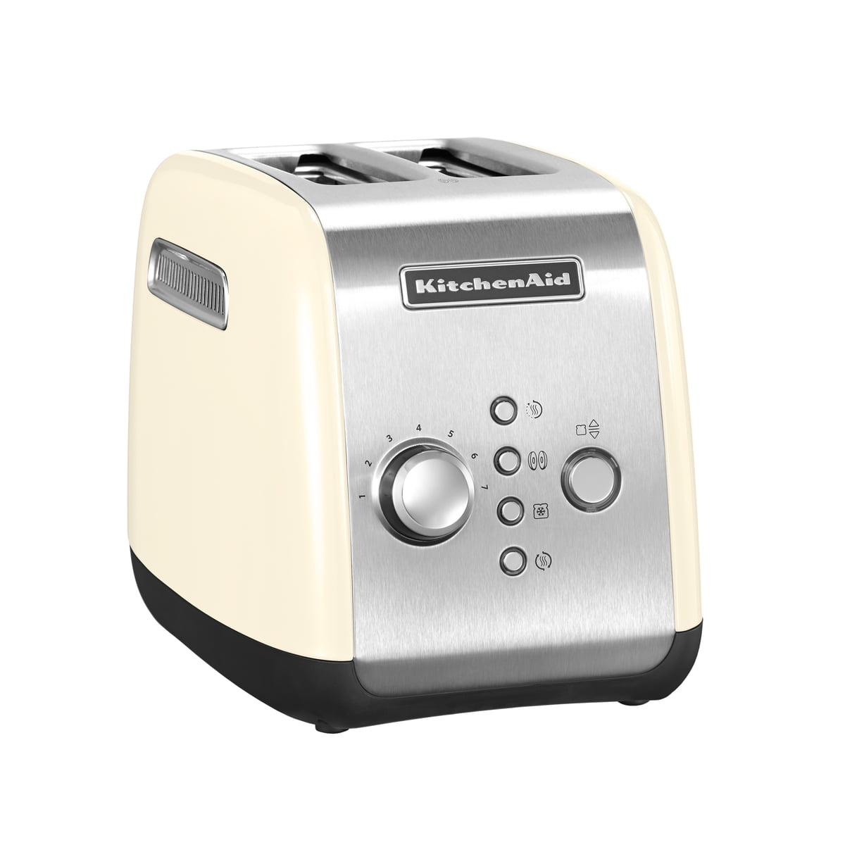 KitchenAid - Toaster KMT221, 2 Scheiben, créme | Küche und Esszimmer > Küchengeräte > Toaster | Kitchen Aid