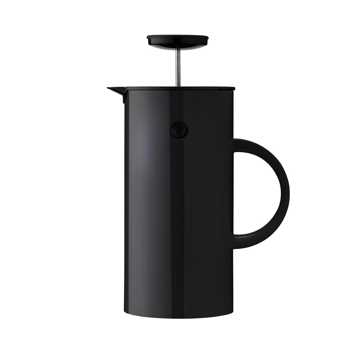 Kaffeezubereiter, 8 Tassen, schwarz