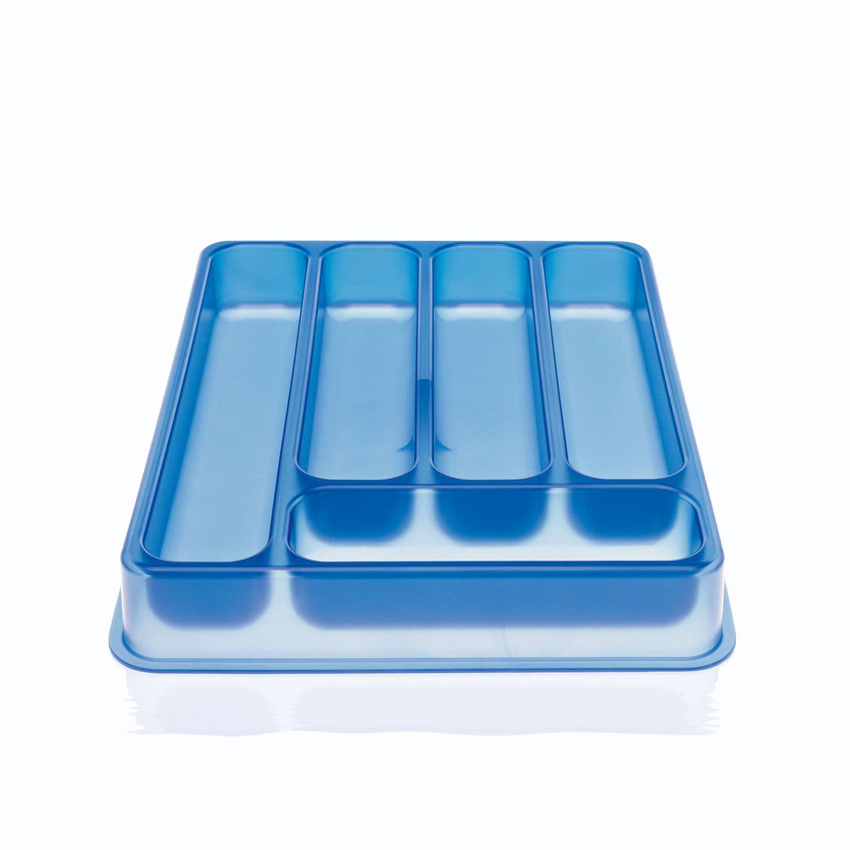 Magis - A, B, C... Besteckkasten, blau | Küche und Esszimmer > Küchen-Zubehör > Halter und Haken | Magis