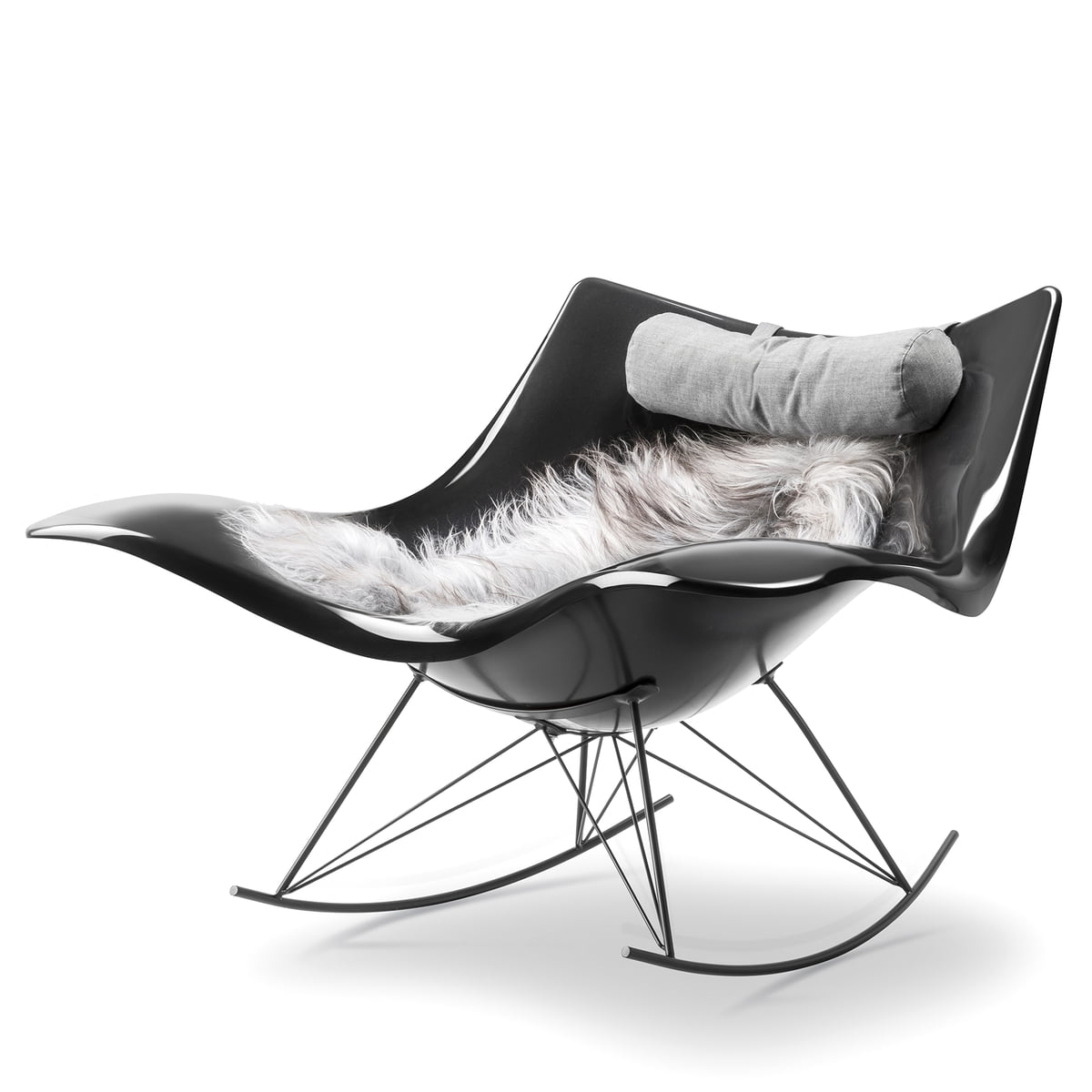 stingray schaukelstuhl von fredericia im shop. Black Bedroom Furniture Sets. Home Design Ideas