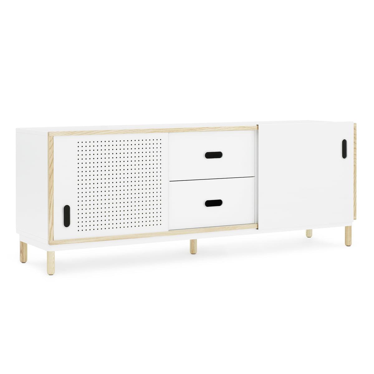 Normann Copenhagen - Kabino Sideboard mit Schubladen, weiß