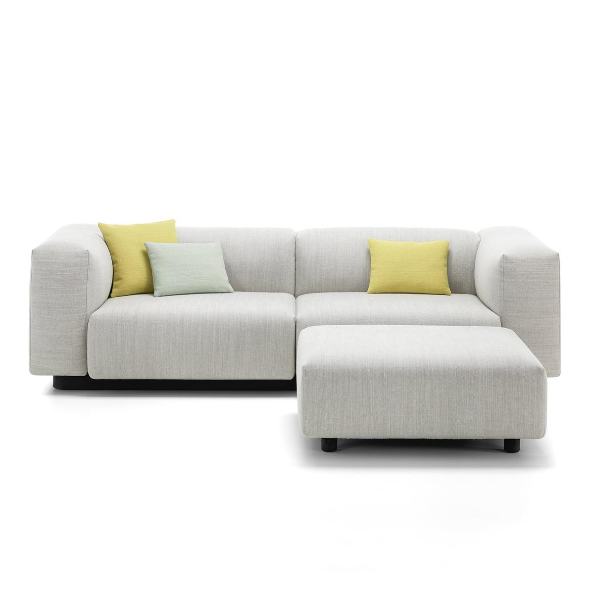 soft modular sofa 2 sitzer von vitra connox. Black Bedroom Furniture Sets. Home Design Ideas