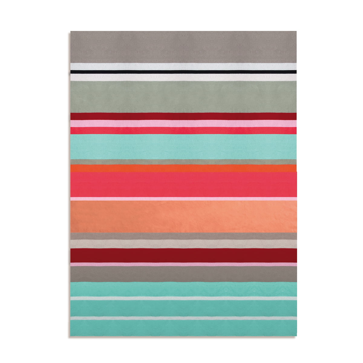 Remember - Baumwolldecke, Stripe | Heimtextilien > Decken und Kissen > Baumwolldecken | Remember