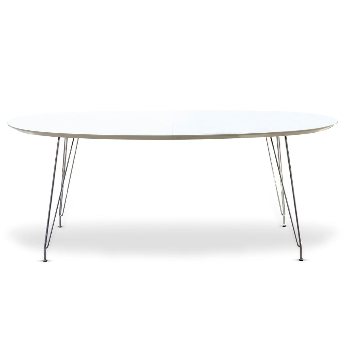 Esstisch oval weiß  DK10 Esstisch von Andersen Furniture