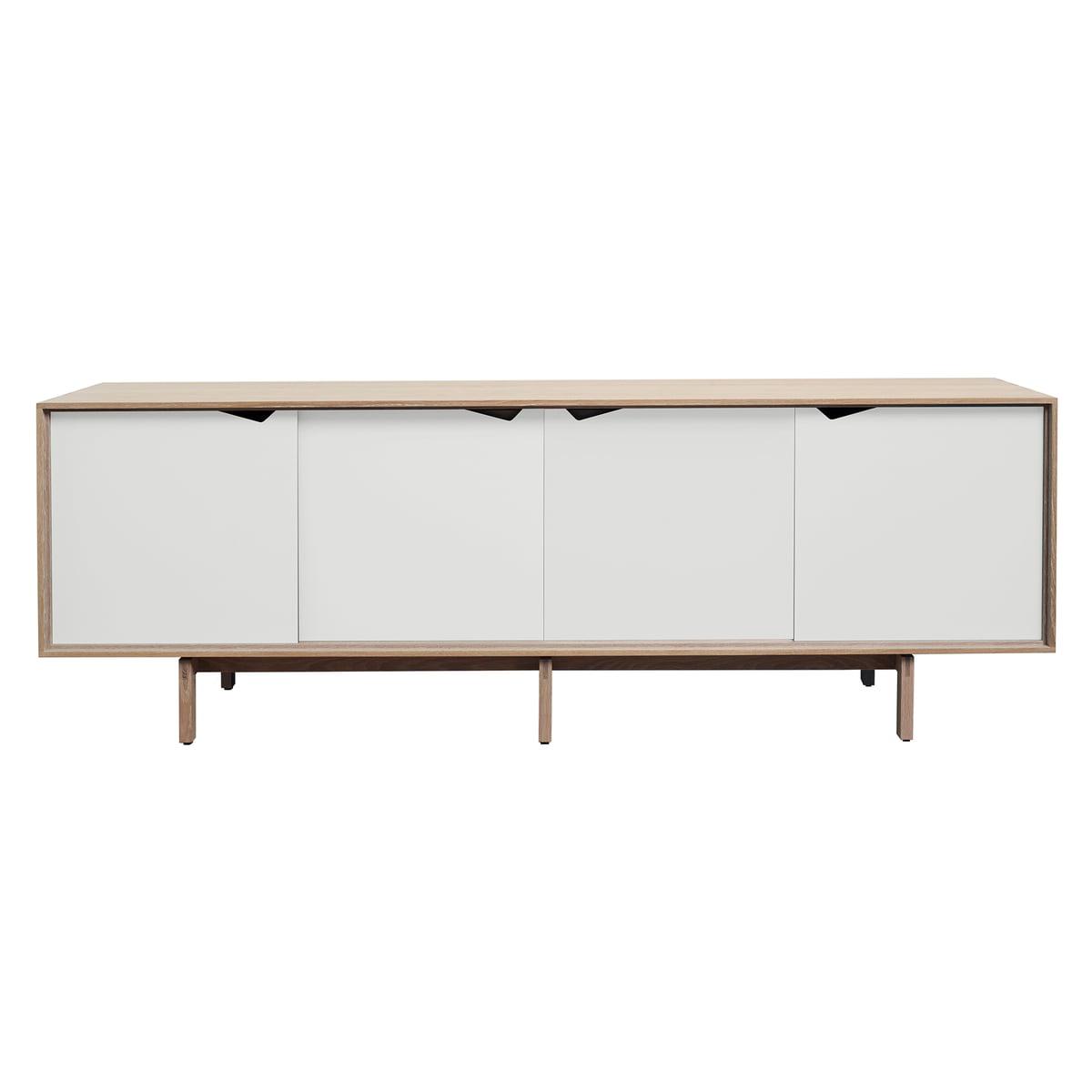 cheap beautiful s sideboard von andersen furniture in eiche geseift tren wei with sideboard eiche wei with eiche wei