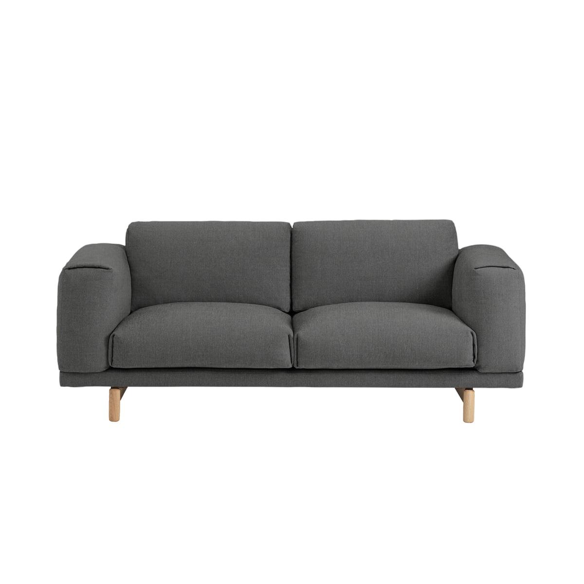 Rest Studio Sofa 2 Sitzer Remix 163 Von Muuto