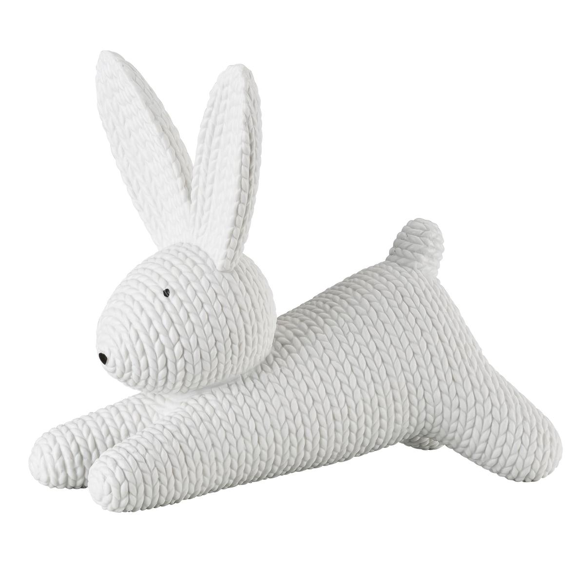 Rosenthal - Hase Porzellan liegend groß, weiß