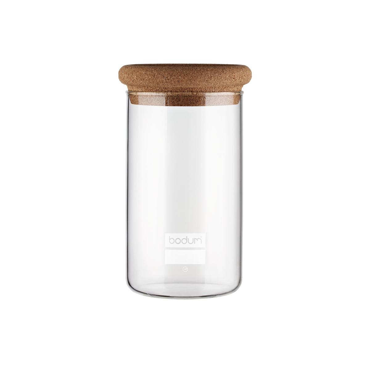 Bodum - Yohki Vorratsglas, 1 l mit Korkdeckel