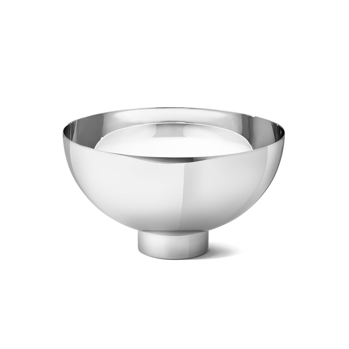 Edelstahl /Ø 27,5cm Holz Georg Jensen Soeren Schale//Bowl