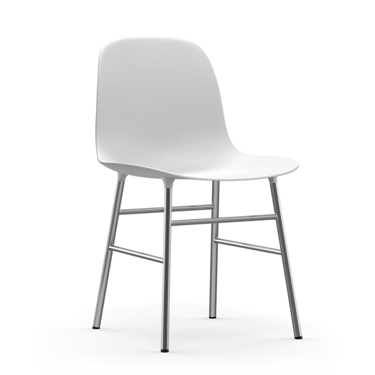Form chair chrom von normann copenhagen for Barhocker normann copenhagen