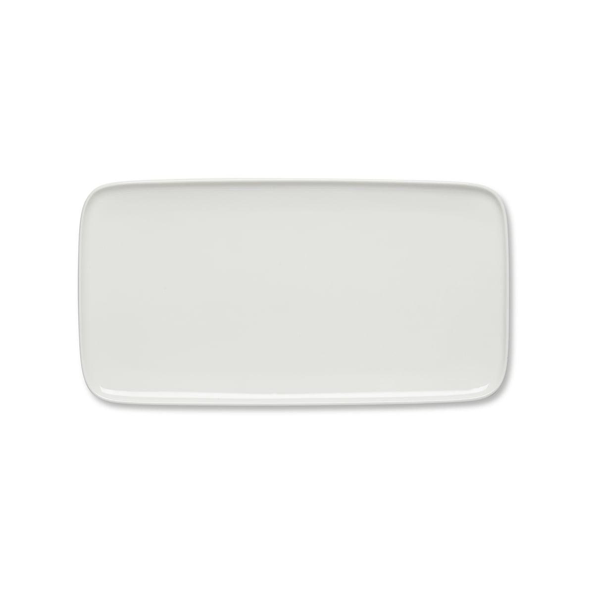Marimekko - Oiva Servierplatte, 16 x 30 cm, weiß   Küche und Esszimmer > Besteck und Geschirr > Geschirr   Marimekko