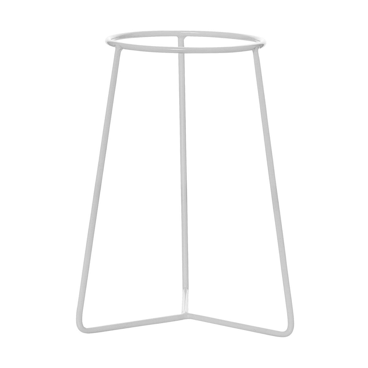 Bloomingville - Blumentopf-Ständer Ø 13.5 cm, weiß