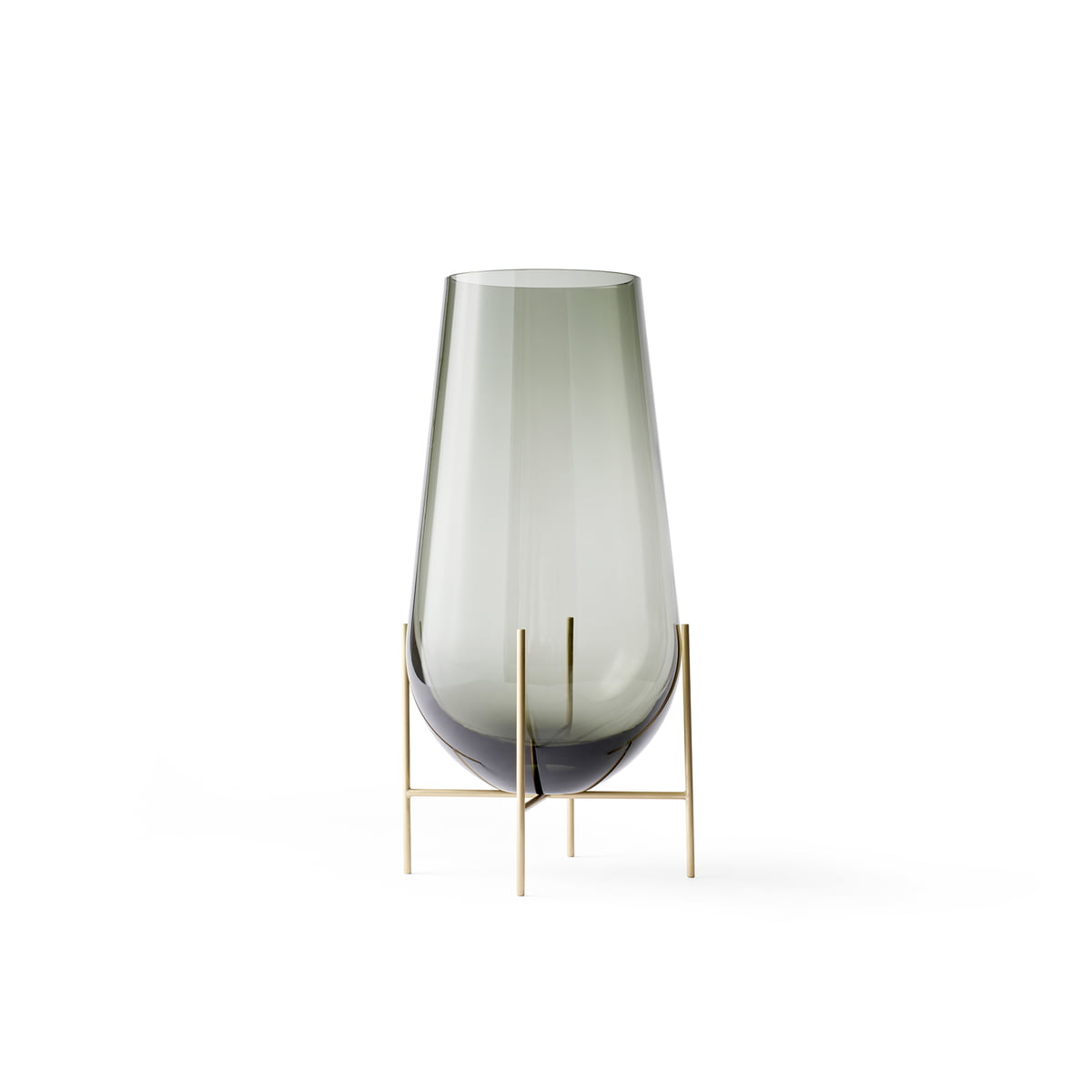Menu - Échasse Vase S, smoke | Dekoration > Vasen | Menu