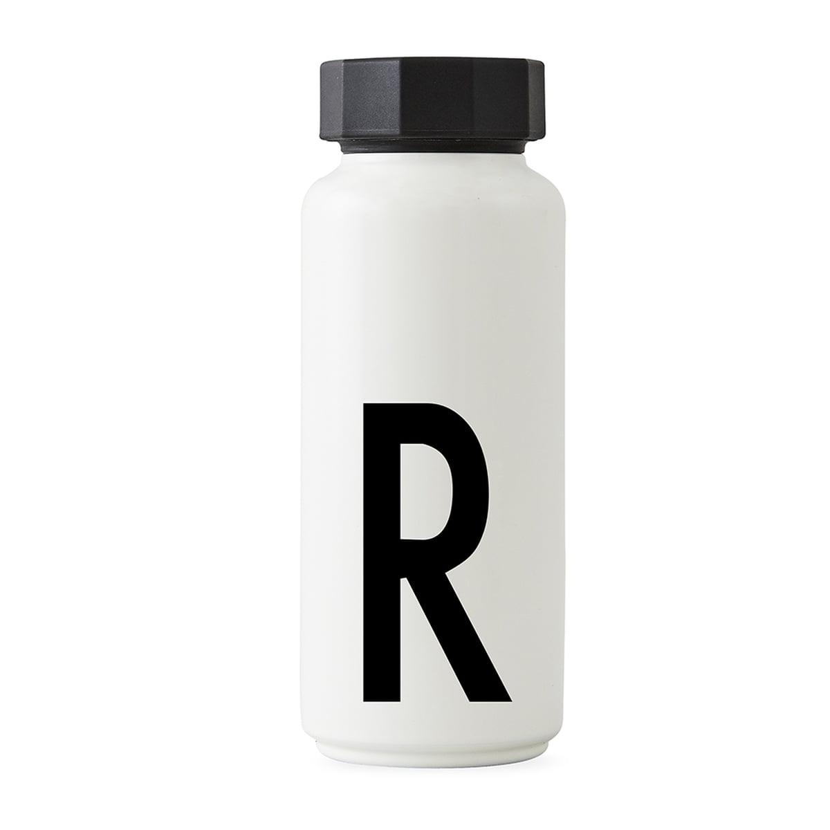 Design Letters - AJ Thermosflasche R, weiß | Küche und Esszimmer > Besteck und Geschirr > Kannen und Wasserkessel | Design Letters