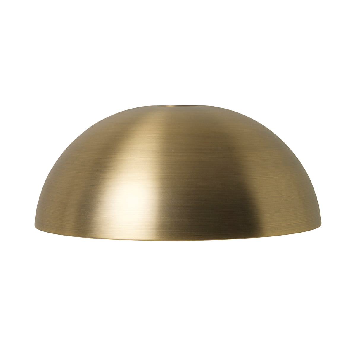 ferm LIVING - Dome Shade Lampenschirm, Messing   Lampen > Lampenschirme und Füsse   ferm living
