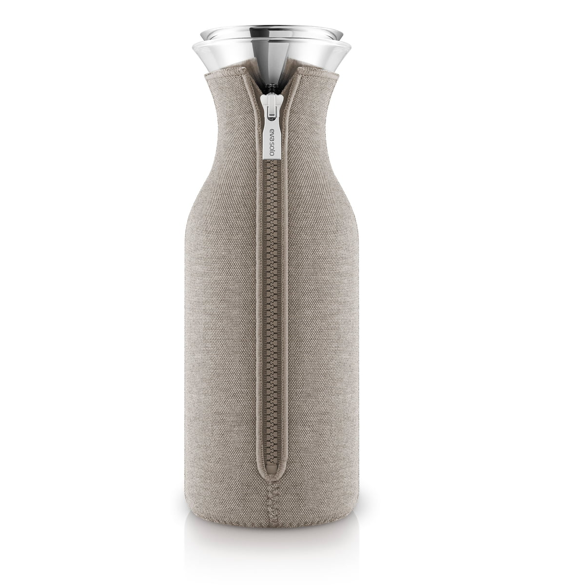 Eva Solo - Kühlschrankkaraffe Woven 1.0 l, warm grey