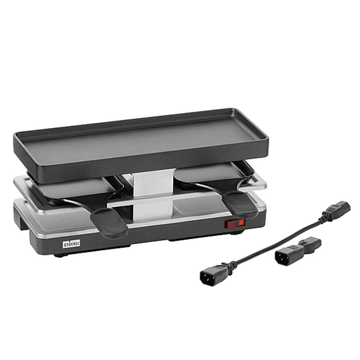 Stöckli - Raclette Twinboard Fortsetzungsgerät, anthrazit | Küche und Esszimmer > Küchengeräte | Stöckli