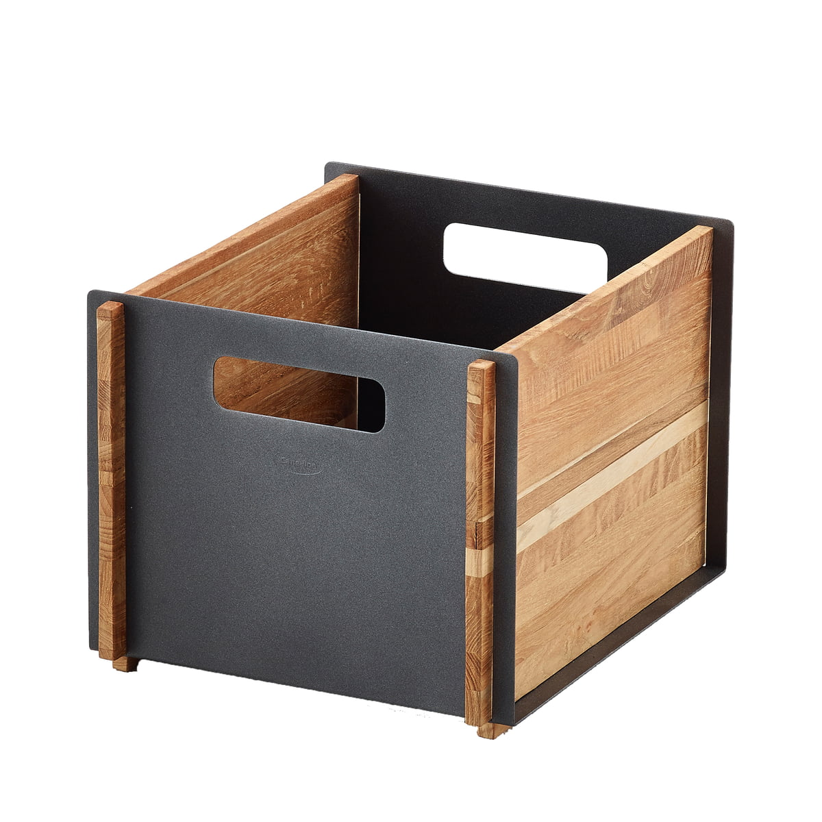 Cane-line - Box Aufbewahrungskasten, Teak / lava grey