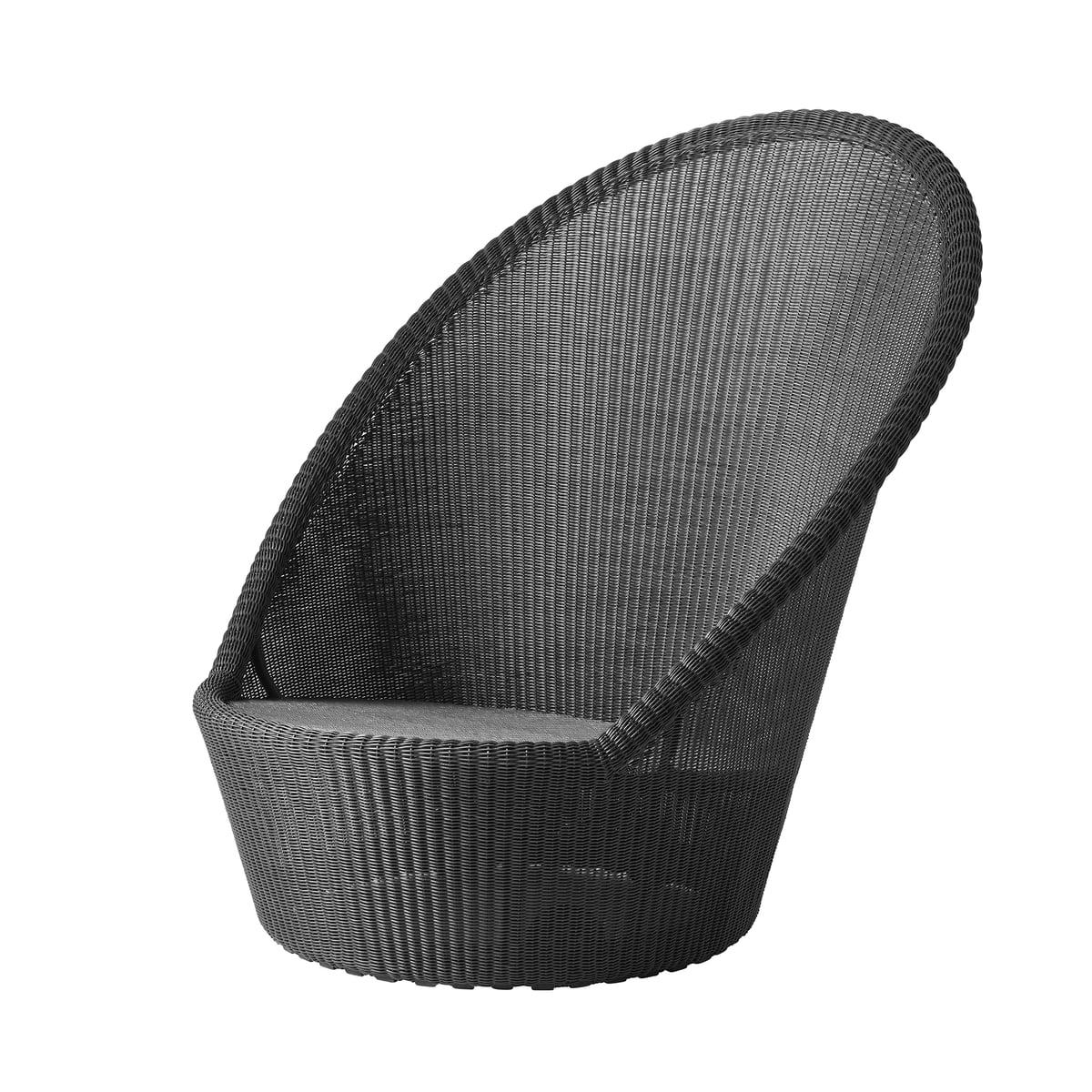 Cane-line - Kingston Sunchair mit Rädern (5448), graphit