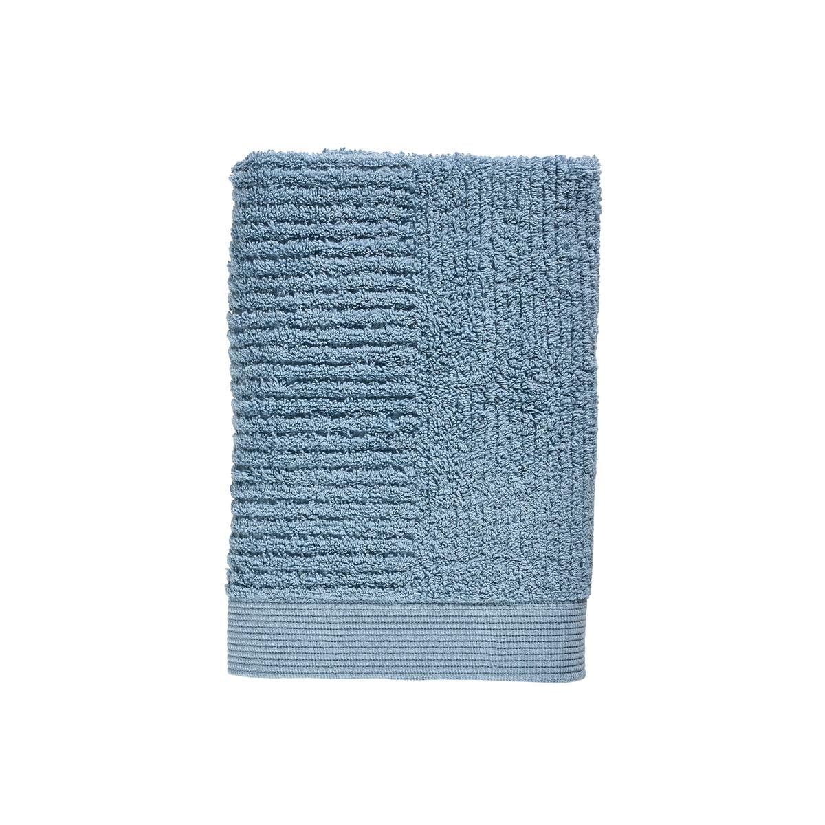 Zone Denmark - Classic Gästehandtuch, 50 x 70 cm, blue fog | Bad > Handtücher > Gästehandtücher | Zone Denmark