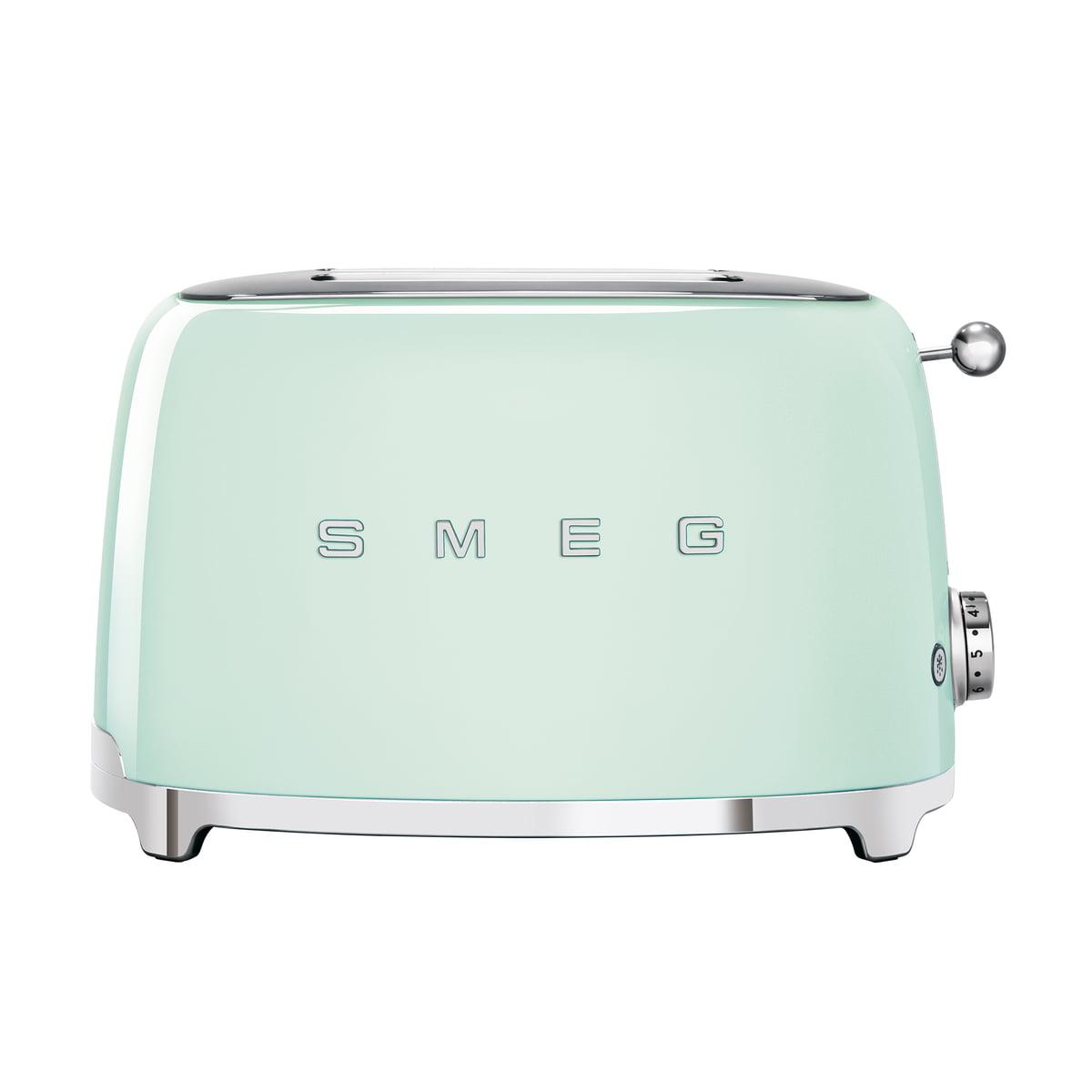 SMEG - 2-Scheiben ToasterTSF01, pastellgrün