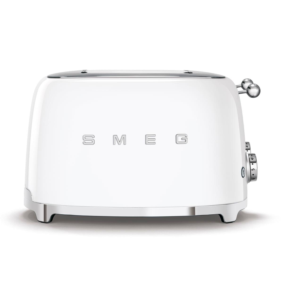 SMEG - 4-Scheiben Toaster TSF03, weiß