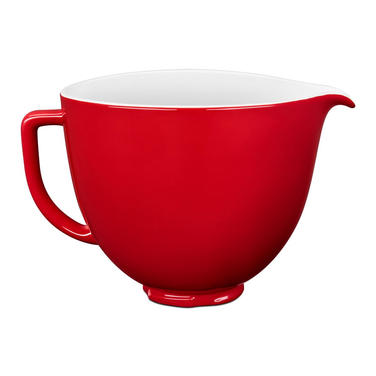 KitchenAid - Keramische Schüssel für Küchenmaschine Artisan 4.3 l und 4.8L l rot | Küche und Esszimmer > Küchengeräte > Rührgeräte und Mixer | Kitchen Aid