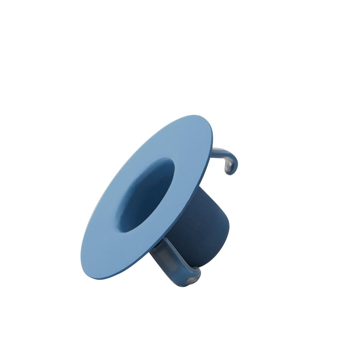 Design Letters - Kerzenhalterung für AJ Porzellan Mini-Becher und Vase, blau | Dekoration > Kerzen und Kerzenständer | Design Letters
