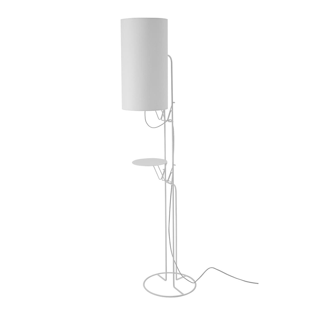 Auslaufartikel: frauMaier - Naomi Stehleuchte, LED-Dimmer, weiß (RAL 9016) | Baumarkt > Elektroinstallation > Dimmer | fraumaier