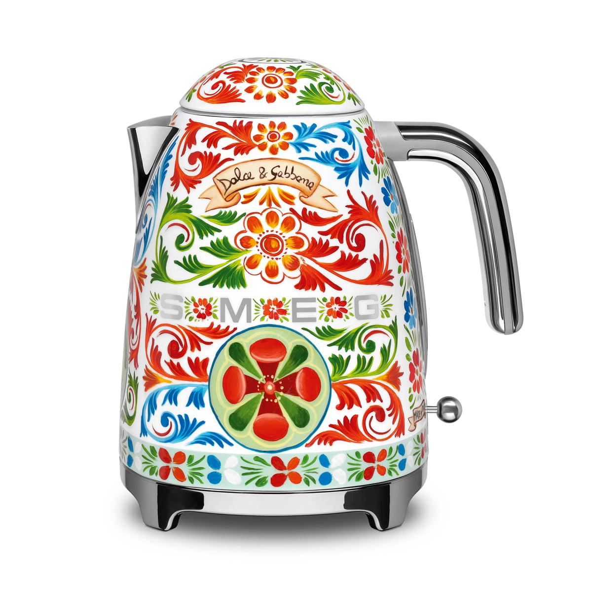 SMEG - Wasserkocher 1,7 l (KLF03), Dolce & Gabbana