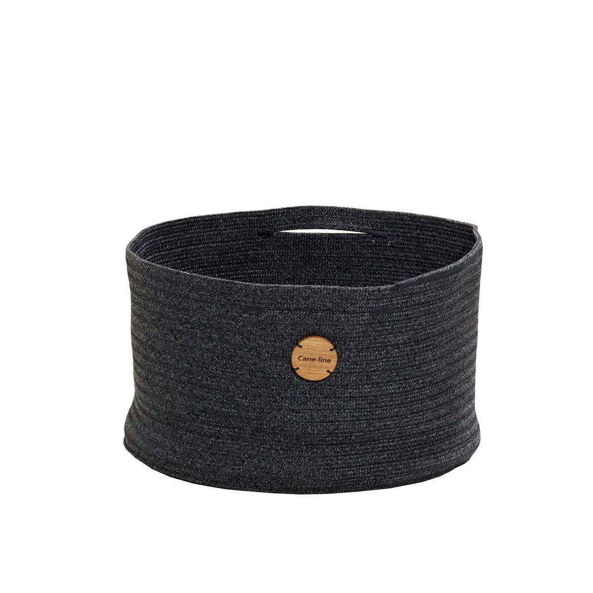 Cane-line - Soft Aufbewahrungskorb Ø 40 cm, dunkelgrau