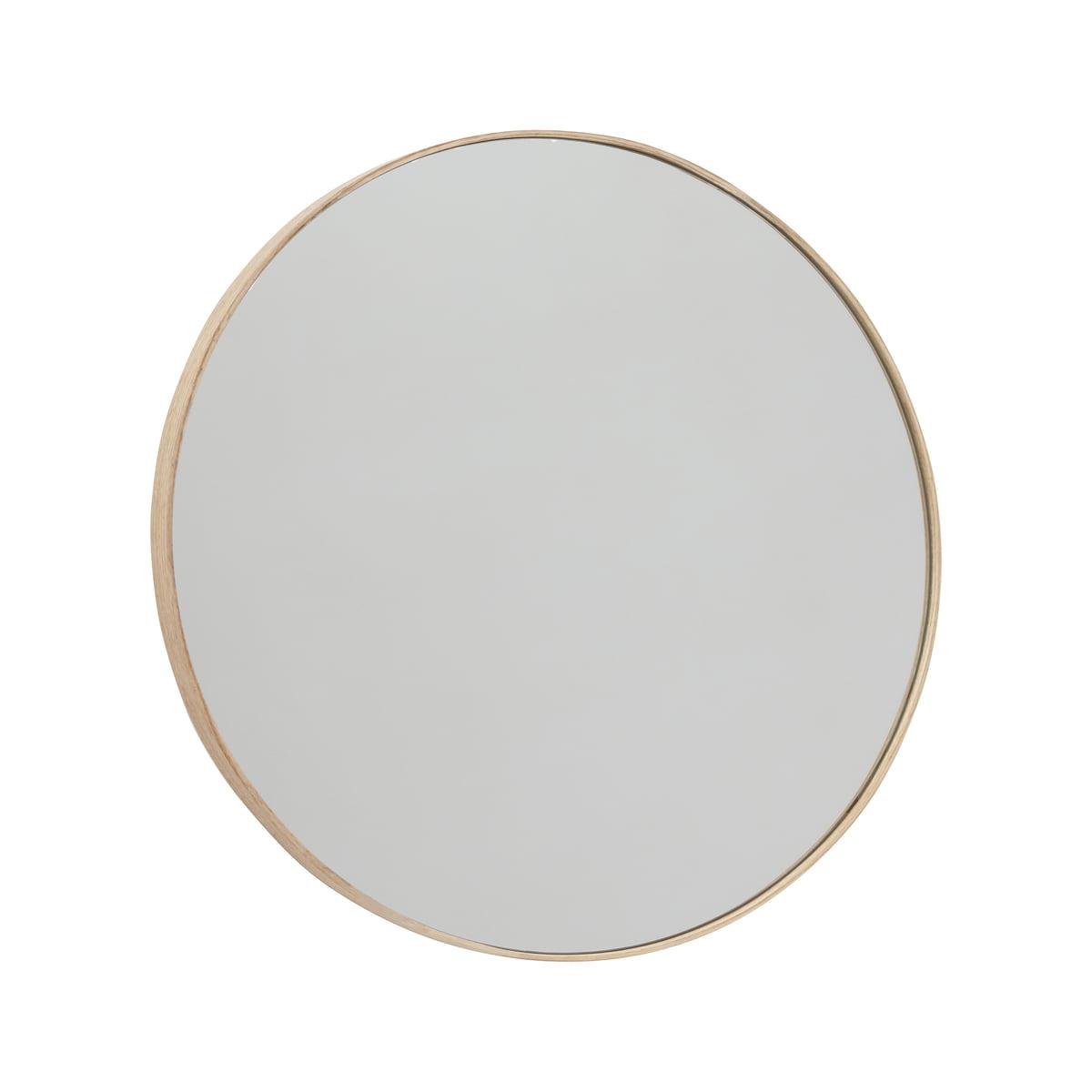OYOY - Mun Wandspiegel Ø 70 cm, Esche