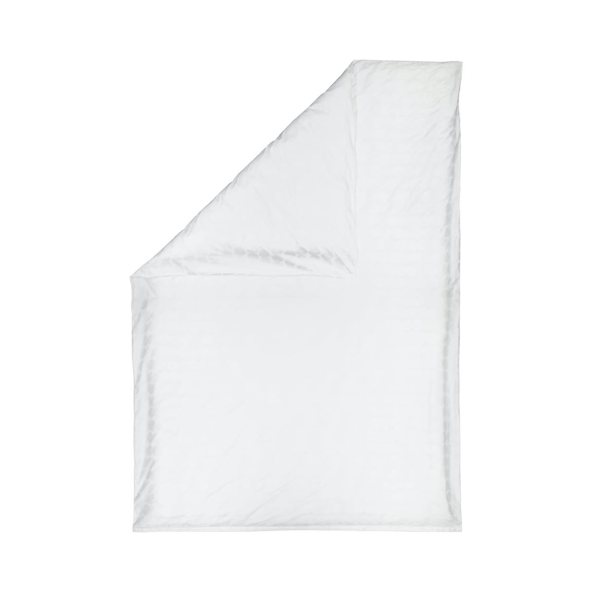 Marimekko - Räsymatto Deckenbezug, 150 x 210 cm, weiß