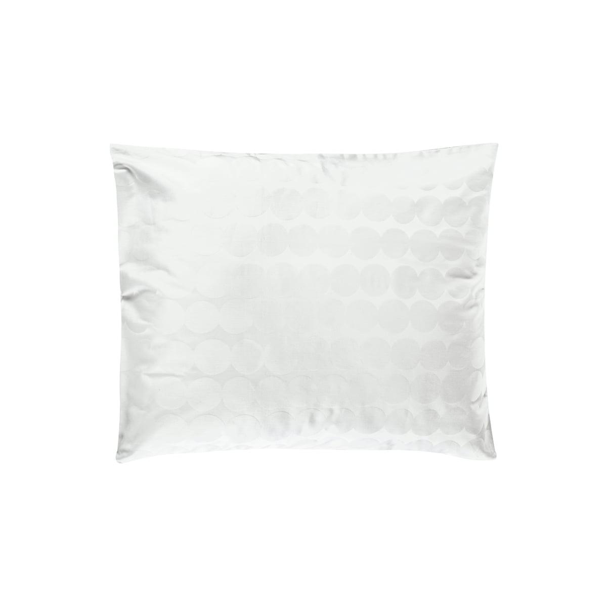 Marimekko - Räsymatto Kopfkissenbezug 50 x 60 cm, weiß