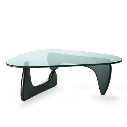 Vitra - Coffee Table in Esche schwarz