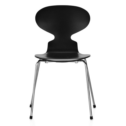 Fritz Hansen - The Ant Chair, schwarz