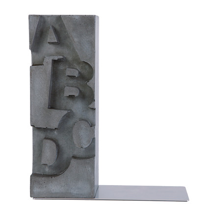 """ABCD"" Bookend"