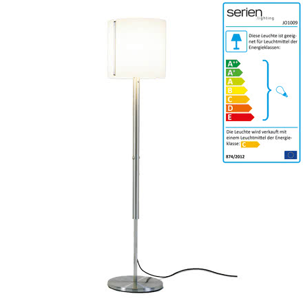 Jones Master Floor Lamp - small shade