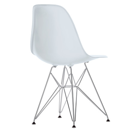 Eames Plastic Side Chair - DSR / weiß
