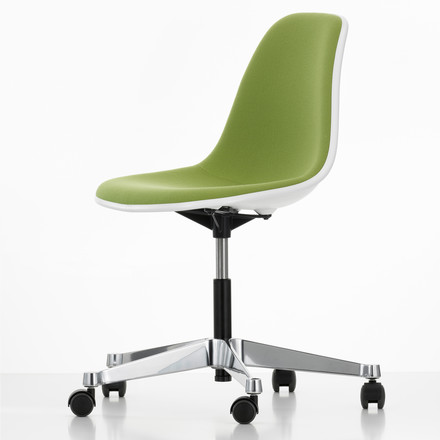 Eames Plastic Side Chair PSCC, grün