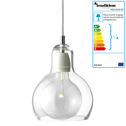 &tradition Mega Bulb SR2 - klar