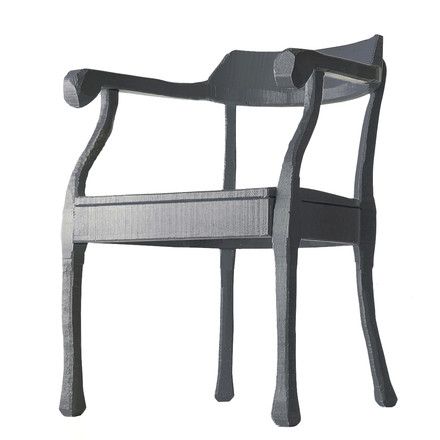 Muuto - Raw Lounge Chair, grau