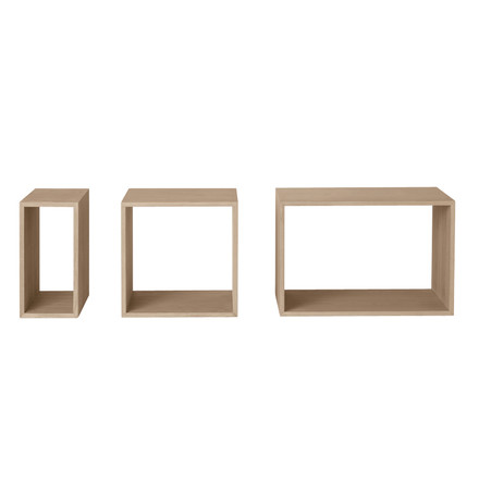 Muuto - Stacked Regalsystem - Esche