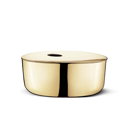 Georg Jensen - Precious Box - Messing, medium