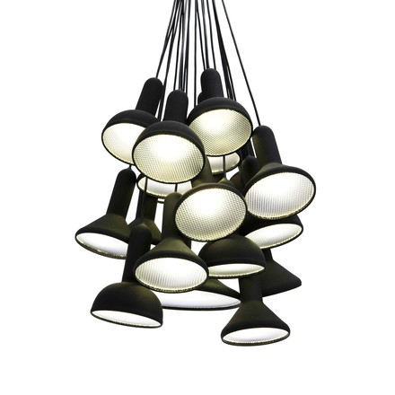Established & Sons - Torch light Pendelleuchte schwarz