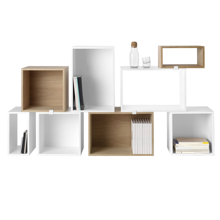 Muuto - Stacked Regalsystem - weiß